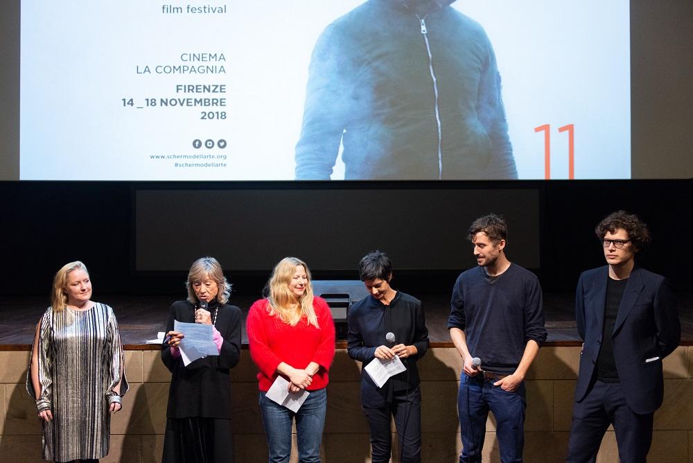 Premiazione Feature Expanded. Art Film Strategies: Floris Schönfeld – Photo by Gianmarco Rescigno – Courtesy Lo Schermo dell'arte