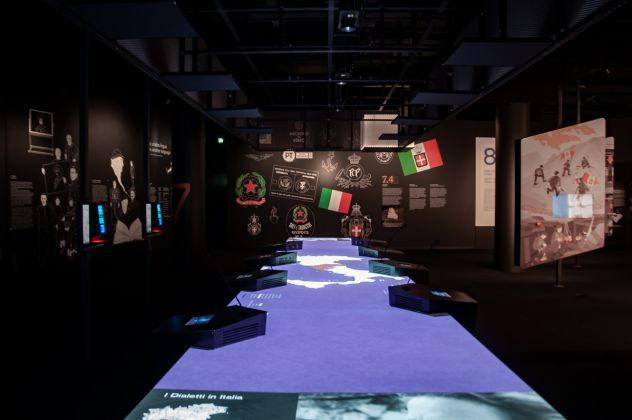 Museo M9, Mestre, progettazione delle installazioni di Dotdotdot . Ph. Irene Fanizza