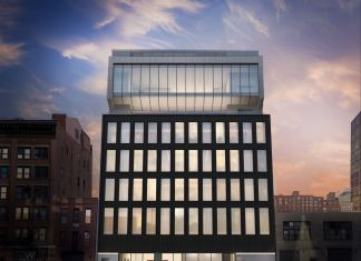 Architectural rendering of 540 West 25th Street, New York.Courtesy of Bonetti / Kozerski Architecture.