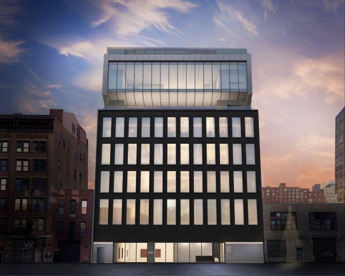 Architectural rendering of 540 West 25th Street, New York.Courtesy of Bonetti / Kozerski Architecture.