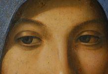 Antonello da Messina, Vergine annunciata, 1475-1476. Tempera e olio su tavola,45 x 34,5 cm. Galleria Regionale della Sicilia di Palazzo Abatellis, Palermo