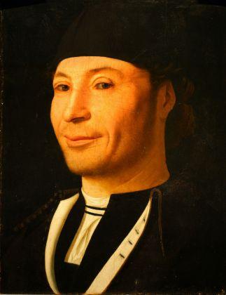 Antonello da Messina, Ritratto d'uomo detto Ritratto di ignoto marinaio, 1470 circa. Olio su tavola, 30,5 x 26,3 cm. Museo della Fondazione Mandralisca, Cefalù