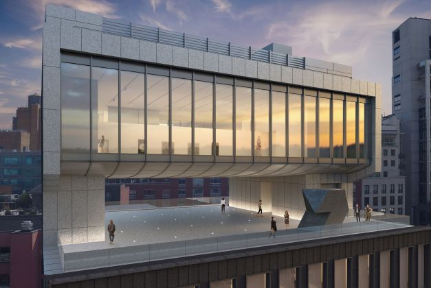Architectural rendering of the sixth and seventh floor galleries of 540 West 25th Street, New York.Courtesy of Bonetti / Kozerski Architecture.