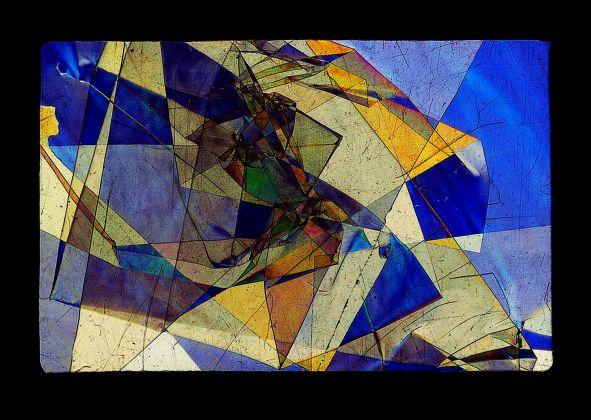 FONDAZIONE PLART BRUNO MUNARI Vetrini a luce polarizzata 1953 Materiali vari Courtesy Miroslava Hajek