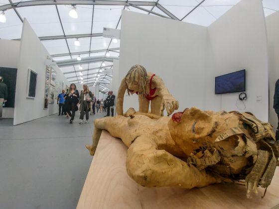 Galleria: Cindy Rucker Gallery; opera: Cuerpos Blandos, di Juan Pablo Langlois Vicuna.