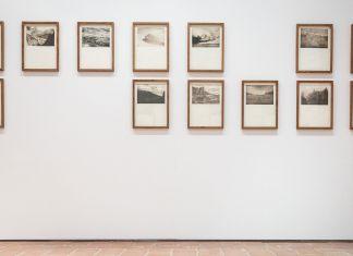 Alessandro Piangiamore, Tutto il vento che c'è, 2010; 38 Stampe realizzate ad incisione a puntasecca su rame; dim. 42 x 35 cm cad.; Courtesy l'artista