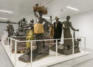 A view from the Introduction gallery: A Museum in motion © RMCA, Tervuren, photo Jo Van de Vijver
