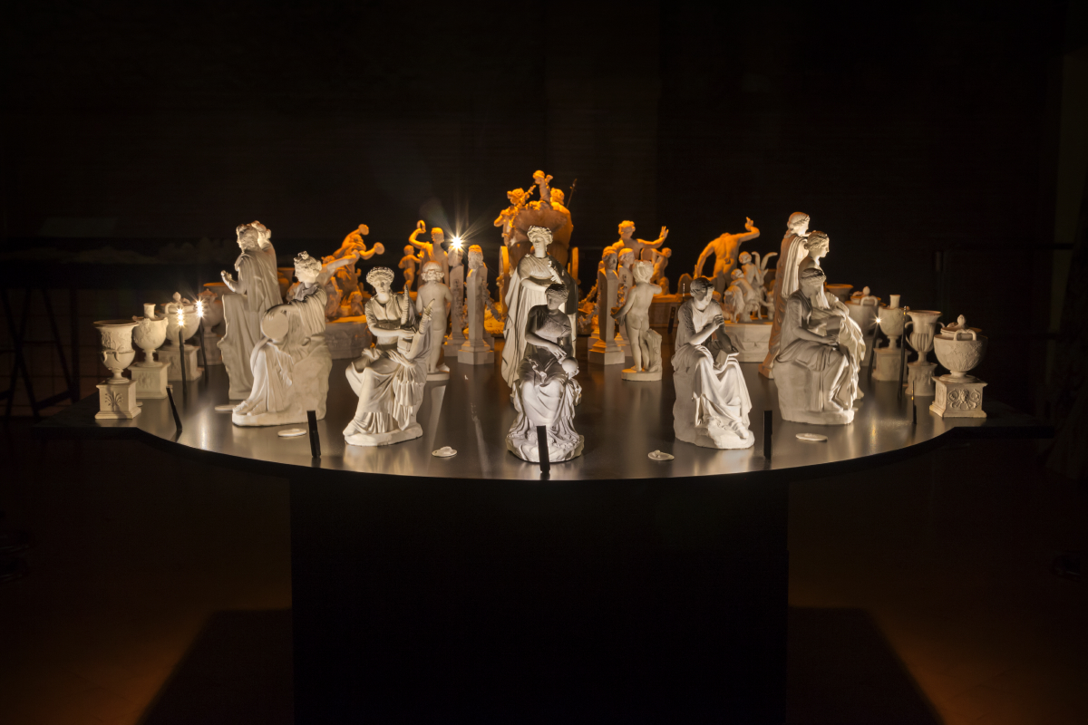 NONE collective, Caleidoscopio, Il classico si fa pop, Palazzo Massimo, photo credits, Cristina Vatielli, NONE collective