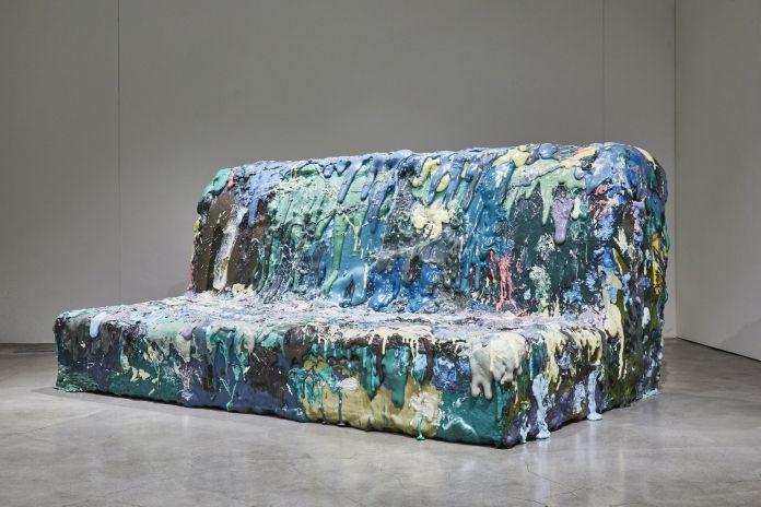 Cristina Grajales, Sang Hoon Kim, Four Seat Sofa