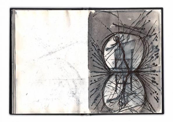 Alfredo Pirri, disegni preparatori per il progetto Idra - Matera Alberga