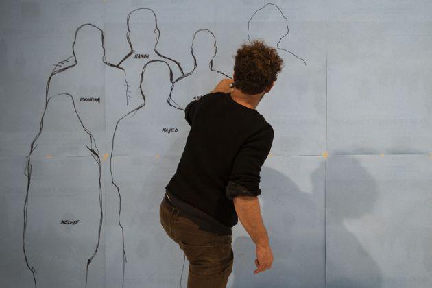 Davide Dormino, laboratorio Luminaria, photo Chiara Ernandes, courtesy Cantieri d'Arte