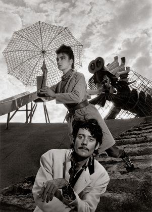 Les Rita Mitsouko 13 octobre 1988; Parc de la Villette, © Atelier Robert Doisneau