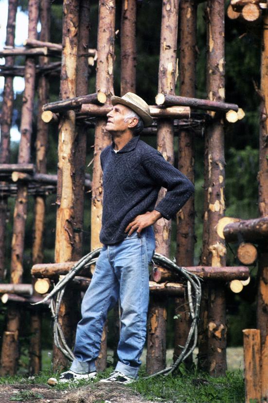 Giuliano Mauri, foto Aldo Fedele, Arte Sella