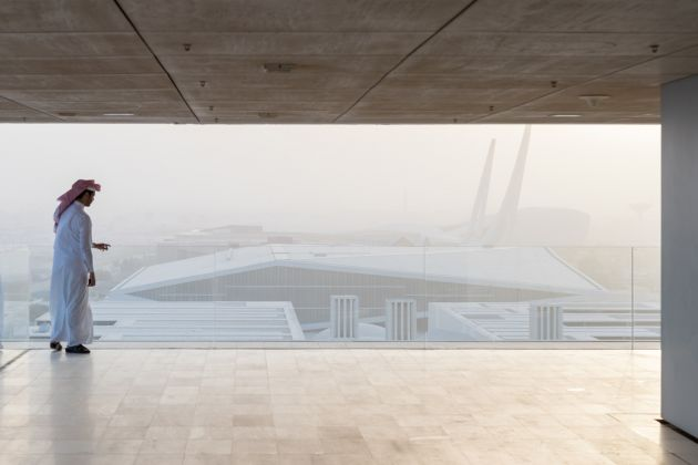 Qatar National Library. Photograph by Iwan Baan, Courtesy of OMA