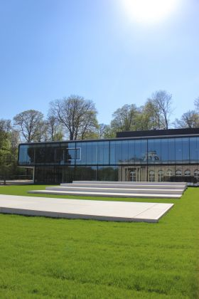 The new Visitor's Pavilion © RMCA, Tervuren
