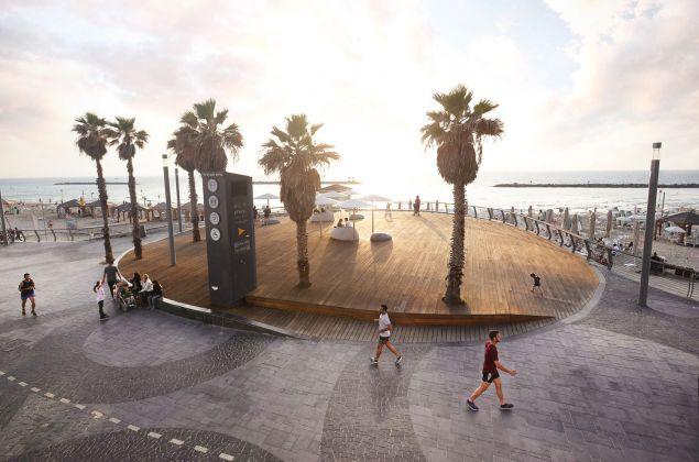 TEL AVIV'S CENTRAL PROMENADE RENEWAL, MAYSLITS KASSIF ARCHITECTS, from Israel