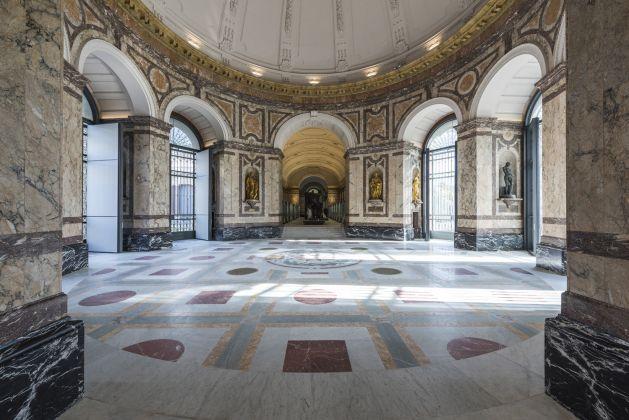 The rotunda © RMCA, Tervuren, photo Jo Van de Vijver