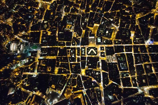 Roma, 2015. Le geometrie del potere: Vittoriano, Palazzo Chigi, Montecitorio, un dedalo di interessi; © Massimo Sestini