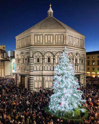 Firenze Light Festival 2018, Piazza Duomo – Foto Courtesy MUS.E Firenze