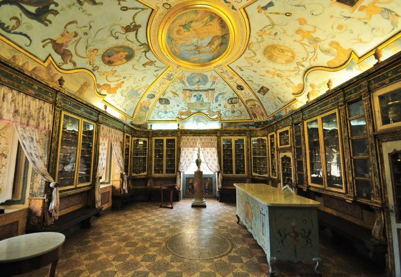 Polo Museale regionale del Lazio - Certosa di Trisulti, Antica Farmacia