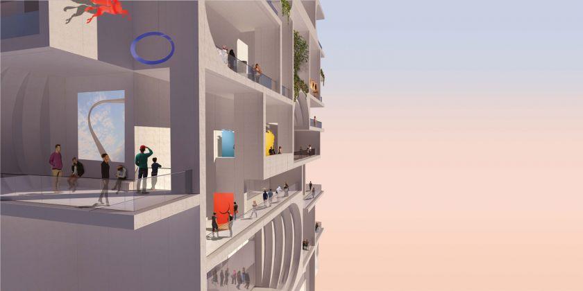 SE Render, BeMA: Beirut Museum of Art, designed by WORKac