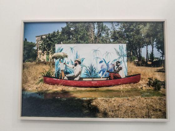 Galleria: Eduardo Secci; opera: L'atelier sur l'herbe, di Luigi Presicce.