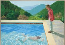David Hockney, Portrait of an Artist (Pool with Two Figures), 1972. Courtesy Christie's Images Ltd 2018