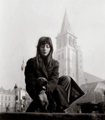 Juliette Gréco, Saint Germain des Prés, 1947 © Atelier Robert Doisneau