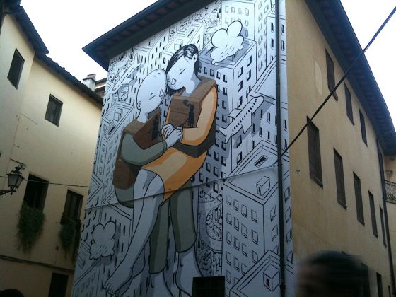 MILLO Street art Pistoia Ph Claudia Zanfi