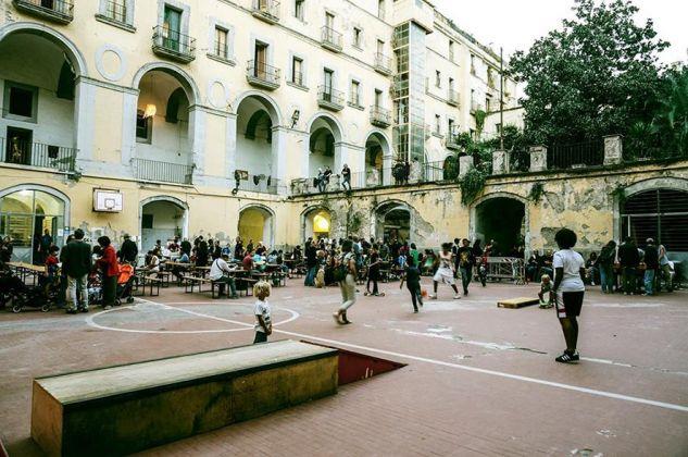 Cortile dello Scugnizzo Liberato, Napoli