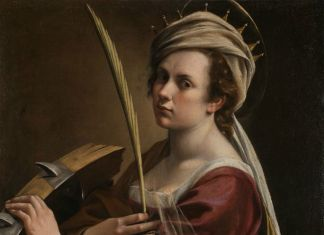 Artemisia Gentileschi, Autoritratto come Santa Caterina d'Alessandria, 1615–17. © The National Gallery, Londra