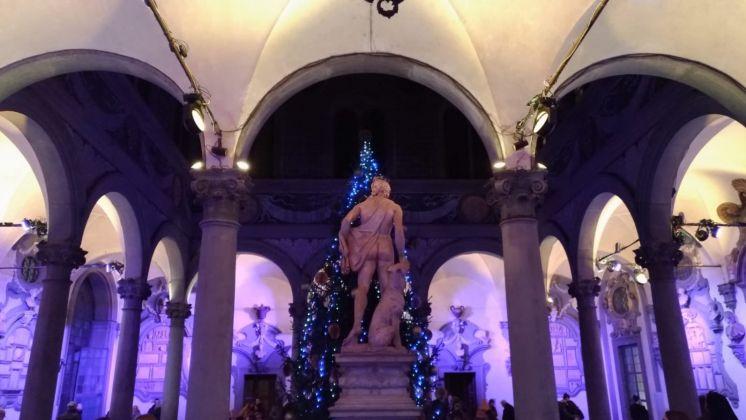 Firenze Light Festival 2018, Palazzo Medici Riccardi Cortile di Michelozzo – Foto Courtesy MUS.E Firenze