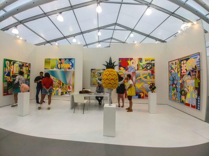 Galleria: The Hole; opere di Eric Shaw.