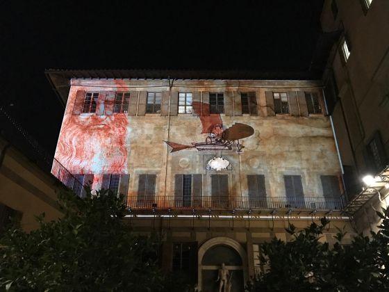 Firenze Light Festival 2018, Palazzo Medici Riccardi Giardino – Foto Courtesy MUS.E Firenze