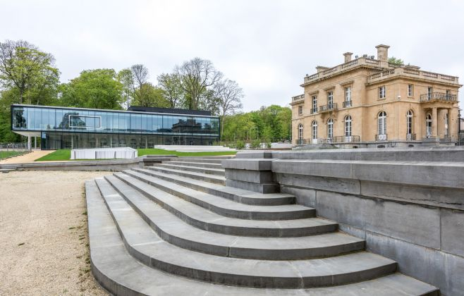 The new Visitor's Pavilion © RMCA, Tervuren, photo Jo Van de Vijver
