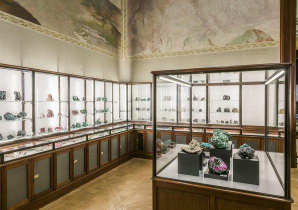 A view of the Mineral Cabinet © RMCA, Tervuren, photo Jo Van de Vijver