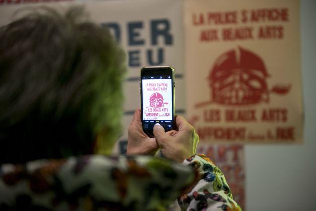 A Visual Protest. The Art of Banksy. Inaugurazione al MUDEC, Milano 2018. Photo Paolo Poce