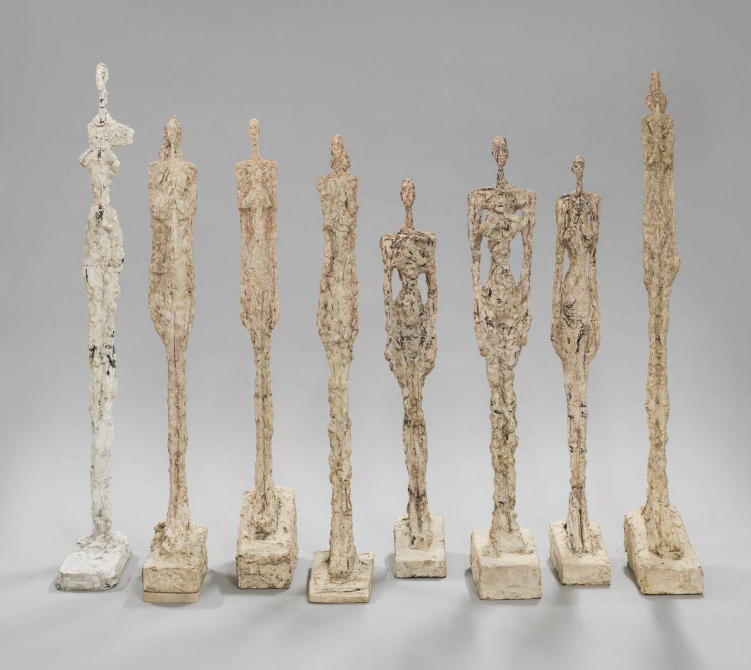 Alberto Giacometti, Femmes de Venise, 1956. Fondation Giacometti, Paris © Succession Alberto Giacometti VEGAP, Bilbao 2018