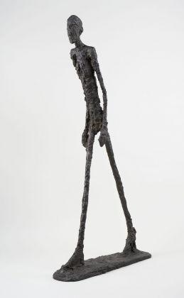 Alberto Giacometti, Homme qui marche I, 1960. Fondation Giacometti, Paris © Succession Alberto Giacometti VEGAP, Bilbao 2018