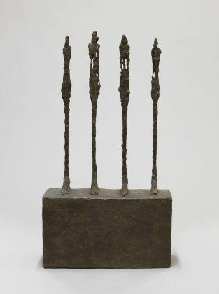 Alberto Giacometti, Quatre femmes sur socle, 1950. Fondation Giacometti, Paris © Succession Alberto Giacometti VEGAP, Bilbao 2018
