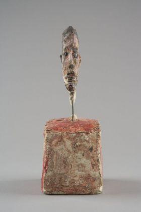 Alberto Giacometti, Tête d'homme sur socle, 1949 51 ca. Fondation Giacometti, Paris © Succession Alberto Giacometti VEGAP, Bilbao 2018