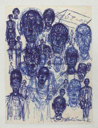 Alberto Giacometti, Têtes d'hommes, 1959 ca. Fondation Giacometti, Paris © Succession Alberto Giacometti VEGAP, Bilbao 2018