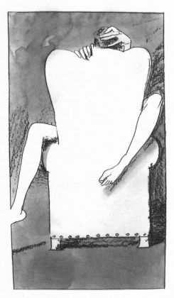 Aldo Di Gennaro, illustrazione per Salve, anni '90