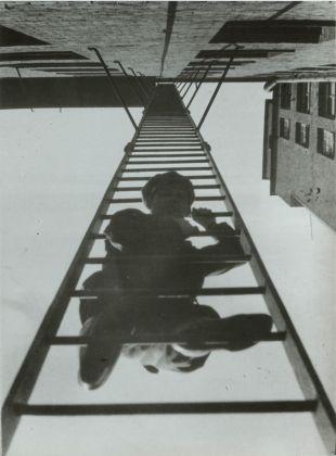 Alexander Rodchenko, Fire Escape (with a man), Mosca