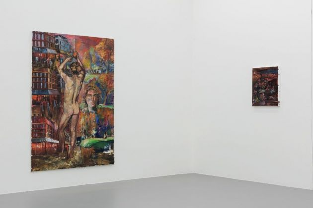 Amelie von Wulffen. Mädchen hinter Gittern. Installation view at Gió Marconi, Milano 2018. Photo Filippo Armellin. Courtesy l'artista & Gió Marconi, Milano