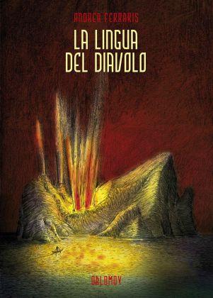 Andrea Ferraris – La lingua del diavolo (Oblomov Edizioni, Quartu Sant'Elena 2018). Copertina