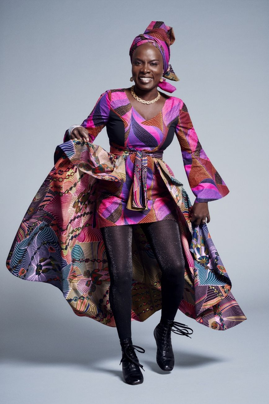 Angélique Kidjo. Photo credit Sofia and Mauro, 2017. Courtesy Romaeuropa Festival