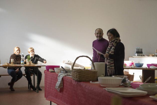 Silvano Manganaro e Elena Bellantoni. Ph. Giorgio Benni
