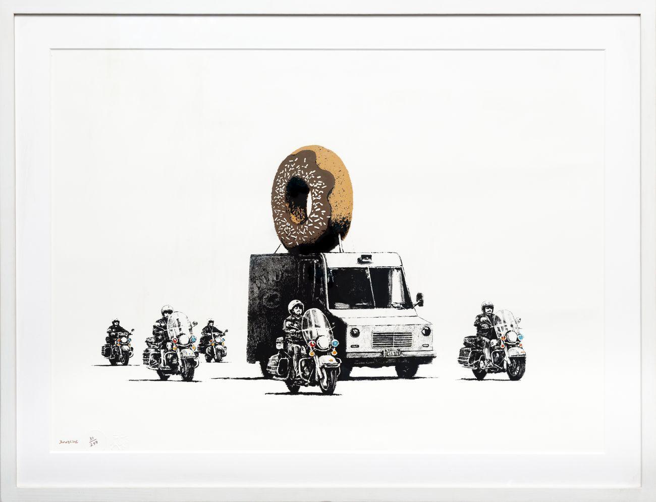 Banksy, Donut