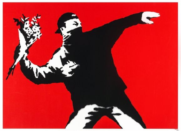 Banksy, Flower Thrower
